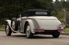1928 Mercedes-Benz 680 S Saoutchik Cabriolet 40156