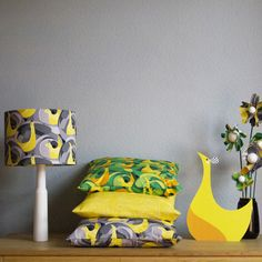 'The Ben the Illustrator Collection' Fabric Products. by Ben O'Brien, via Behance