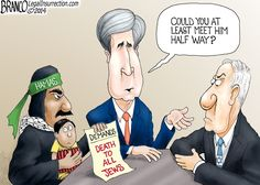 Israel - Hamas Negotiations Not Going Well - Eagle Rising. This is not funny.