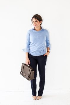 What to Wear for a Job Interview: Business Casual #career  #theeverygirl