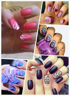 Cute And Creative Swirl Nail Art What Others Are Saying