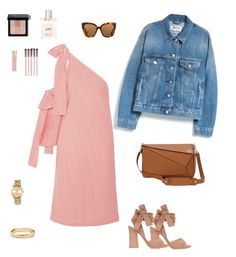 """Untitled #57"" by cristinestyle on Polyvore featuring Gianvito Rossi, Loewe, Gucci, MSGM, MICHAEL Michael Kors, Bobbi Brown Cosmetics, philosophy, Smith & Cult and Acne Studios"