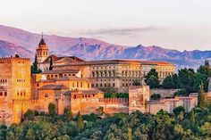 The city is a must see on any trip to Spain. Here is a list of the five top places to visit in Granada. Granada has a wonderful heritage, from Moorish Andalusia Travel, Spain Travel, Spain Tourism, Travel Europe, Valencia, Amazing Destinations, Travel Destinations, Travel Tips, Travel Guides