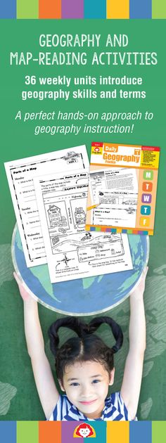 For grades 1–6, Daily Geography Practice supports any social studies curriculum! The 36 reproducible maps and weekly geography activities meet National Geography Standards. More importantly, the lessons are engaging to children and help them develop map-reading skills and learn geography vocabulary. Ideal for classrooms or homeschools!