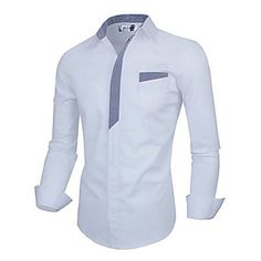 Men's beach wedding shirts are comfortable and stylish enough for a wedding. Learn how to find an elegant and cozy shirt style at low cost. Button Down Shirt Mens, Casual Button Down Shirts, Slim Fit Casual Shirts, Men Casual, Long Sleeve Shirt Dress, Long Sleeve Shirts, Dress Shirt, Shirt Collar Styles, Sharp Dressed Man
