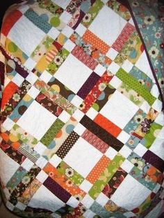 Quilt PATTERN...One Jelly Roll Easy and Quick by sweetjane...could be used for a signature quilt pattern!!! by smcquilts