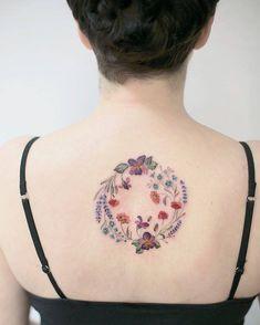 lower back tattoos for women Back Tattoos Spine, Upper Back Tattoos, Girl Back Tattoos, Back Tattoo Women, Cover Up Tattoos, Word Tattoos, Tattoos For Women, Tatoos, Trendy Tattoos