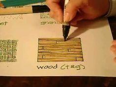 Wood Hand Rendering Tutorial - YouTube