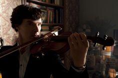 Sherlock and violins!
