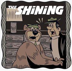 BROTHERTEDD.COM The Shining, Comic Books, Comics, Cover, Funny, Movie Memes, Horror Movies, Aesthetics, Horror Films
