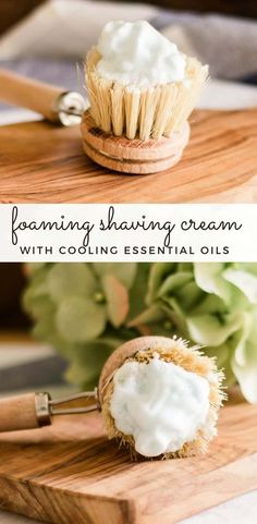 Learn how to make homemade foaming shaving cream with 3 natural ingredients that will nourish your skin and leave it soft and smooth. This foaming shave cream is super easy to make and cost-effective. #foamingshavingcream #shavingcreamrecipe #howtomakeshavingcream #homeamdeshavingcream #diyshavingcream Natural Face Wash, Natural Skin, Homemade Shaving Cream, Oils For Men, Homemade Soap Recipes, After Shave Balm, Beauty Recipe, Sweet Almond Oil, Super Easy