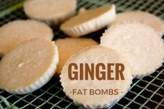 Ginger Fat Bombs