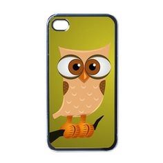 Retro Owl #iPhone 4/4S Case