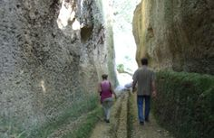 Etruscan tombs and caves near Pitigliano