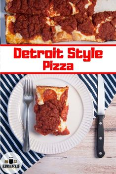 Mar 2020 - How to make your own homemade Detroit Style Pizza from scratch! This is a cheesy, tasty, classic Detroit recipe and you can make it with me. The dough is delicious and it has so much flavor Best Italian Dishes, Best Italian Recipes, Best Dishes, Main Dishes, Detroit Style Pizza Recipe, Detroit Pizza, Pizza Recipes Homemade Dough, I Love Pizza, Dessert Pizza