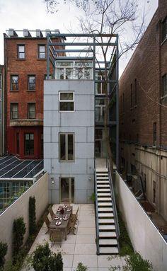 E. 61st Street Townhouse | Turett Collaborative Architects | Archinect