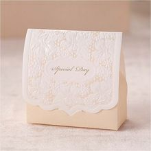 Champagne Laser Cut Wedding Favor Boxes Wedding Candy Box Casamento Wedding Favors And Gifts(China (Mainland))