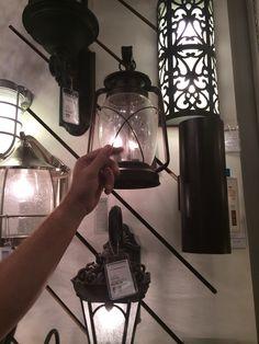 Outdoor lighting - but gas lights