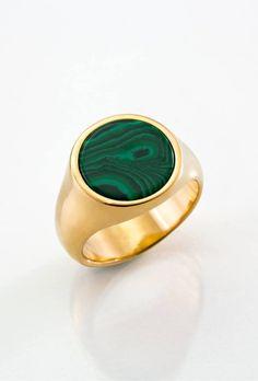 Melancholia jewellery - Malachite sigil