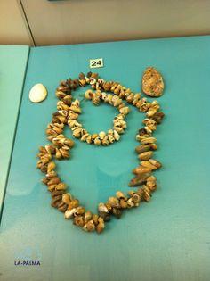 Collar de Caracoles Guanches. Museo Arqueológico de Los Llanos de Aridane. La Palma