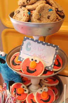 Elmo party!     C is for cookie!   More elmo ideas on this site