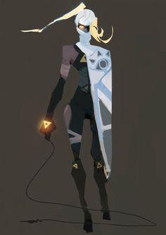 Dark Sheik for Character Design Challenge on Facebook.