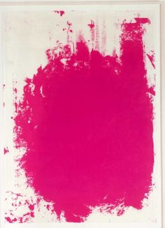 Christopher Wool Print -- Neon Design Picks by Avenue Interior Design, $42