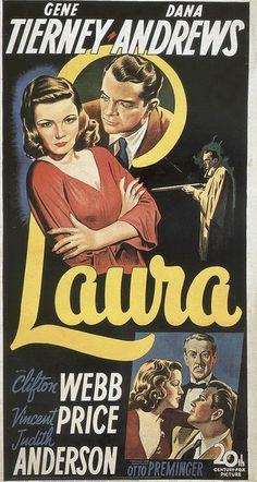 "Gene Tierney as ""Laura,"" 1944"