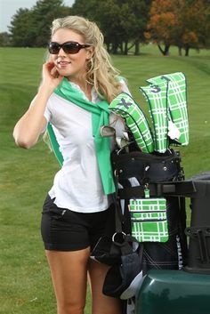 preppy golf accessories from Ame & Lulu #Golf4Her #mothersday
