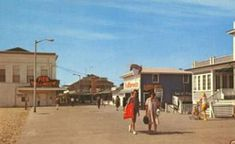The Pier circa 1960's - Ocean City, Maryland - A History In Pictures #oceancitycool #ocmd