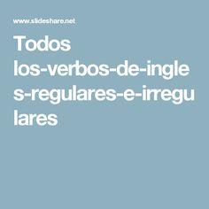 Todos los-verbos-de-ingles-regulares-e-irregulares