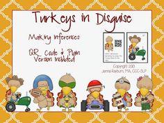 Speech Room News: Turkeys In Disguise: Inferencing activity