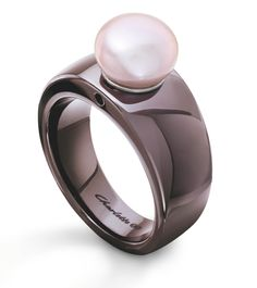 pink pearl on ceramic