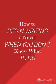 Without an idea, you don't have a story; you just have words on a page. https://goinswriter.com/start-writing-fiction/