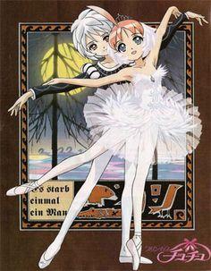 """Princess Tutu"" - Princess Tutu and Mytho."