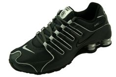 Nike Shox NZ Anthracite Black-Metallic Silver Running Shoe Mens Sneaker  Size 11 bdd6b476e