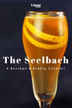 Whiskey Drinks We Love: The Seelbach. Bourbon, Bitters and Bubbly make the perfect tasting cocktail.