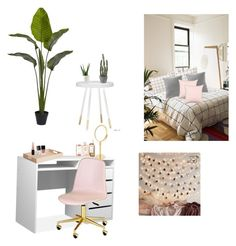 """""""Untitled #22"""" by izzieroo on Polyvore featuring interior, interiors, interior design, home, home decor, interior decorating, Nearly Natural, Urban Outfitters, AERIN and Decor Walther"""