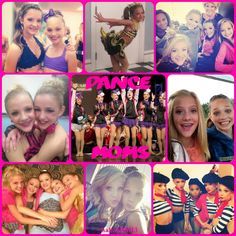All the girls from Dance Moms on Lifetime collage. They are all beautiful and amazing dancers. I love them all! Nia, Paige, Chloe, Brooke, Maddie, and Kenzie.