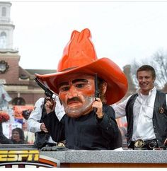 Corso picks the Pokes on College Gameday and he was right!! Pistols firing!