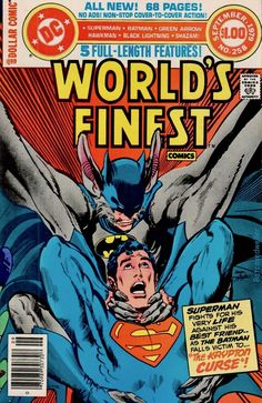 "Batman goes Man-Bat! Plus four other DComs uninterrupted by Hostess junk food adverts and ""The Insult That Made a Man Out of Mac""! Batman Vs Superman, Batman Comics, Superman Family, War Comics, Batman Arkham, Dc Comic Books, Comic Book Covers, Batman Detective Comics, Arte Dc Comics"