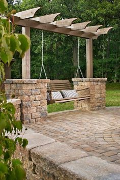 If you have a single-story home or lots of yard space to work with, then a paver patio is a great idea to add some extra space to entertain guests.