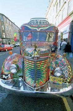 """""""furthr"""" hippie car"""