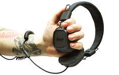Marshall Major Pitch Black Headphones $120