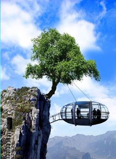 Strange Houses On Unusual Places - Gallery