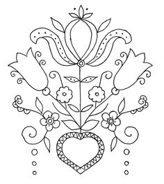 Lovely free punch needle embroidery patterns and Free Punch Needle Patterns Bing Color pages Hungarian Embroidery, Embroidery Sampler, Embroidery Transfers, Embroidery Patterns Free, Crewel Embroidery, Vintage Embroidery, Cross Stitch Embroidery, Embroidery Designs, Machine Embroidery