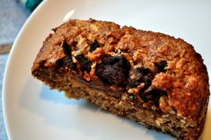 Paleo Banana Bread Slice