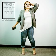 "Erzullie Fierce Plus Size Fashion Philippines: PLUS SIZE STYLE: #OOTD ""DENIM DIVA"""