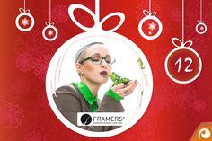 Hinter dem 12. Türchen gibt es heute Brillen von #FRAMERS mit 45% Rabatt | Offensichtlich #Adventskalender @IhrAugenoptiker