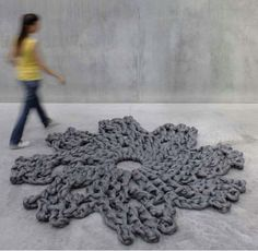 knitted carpet